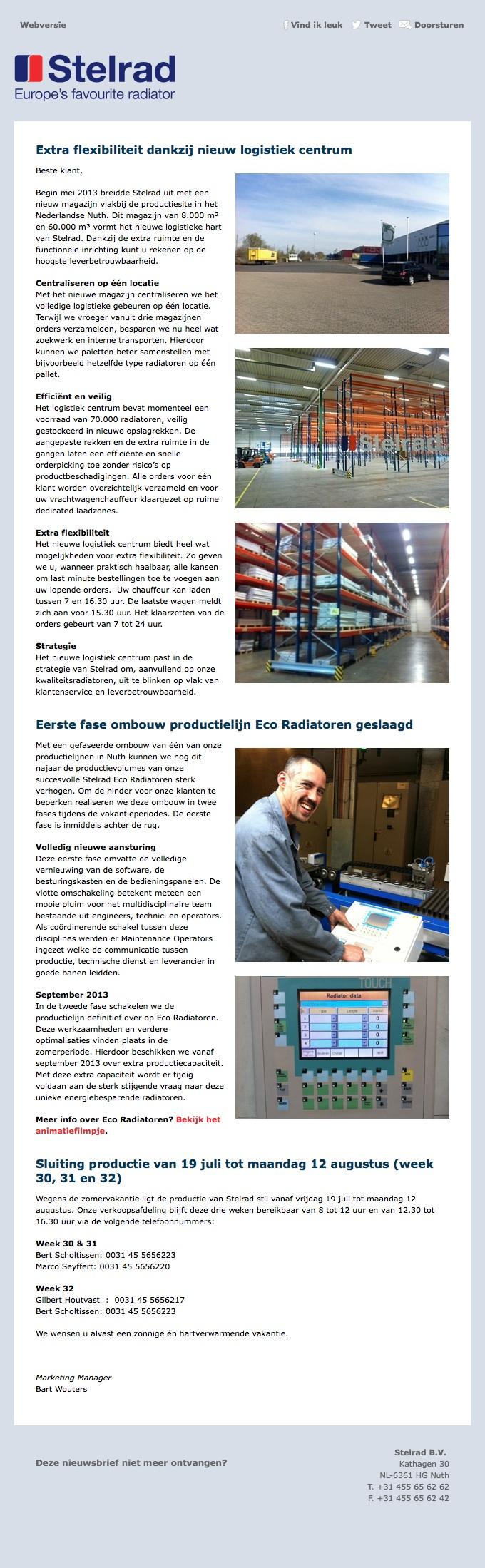 Stelrad- Juni 2013 NL